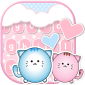 Cat Keyboard Pink Kitty Theme icon