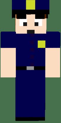 Dantdm Police Officer Png Nova Skin