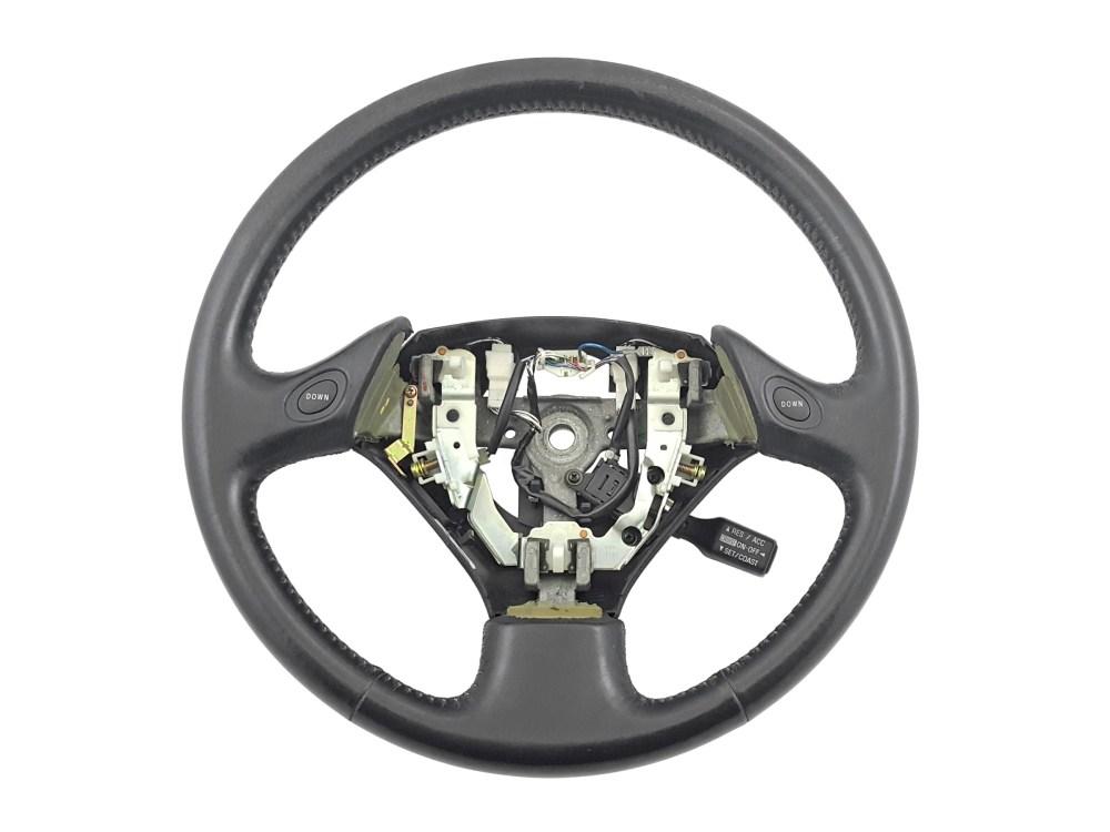 medium resolution of details about 98 05 lexus gs300 gs400 gs430 oem black leather steering wheel cruise aristo 2jz