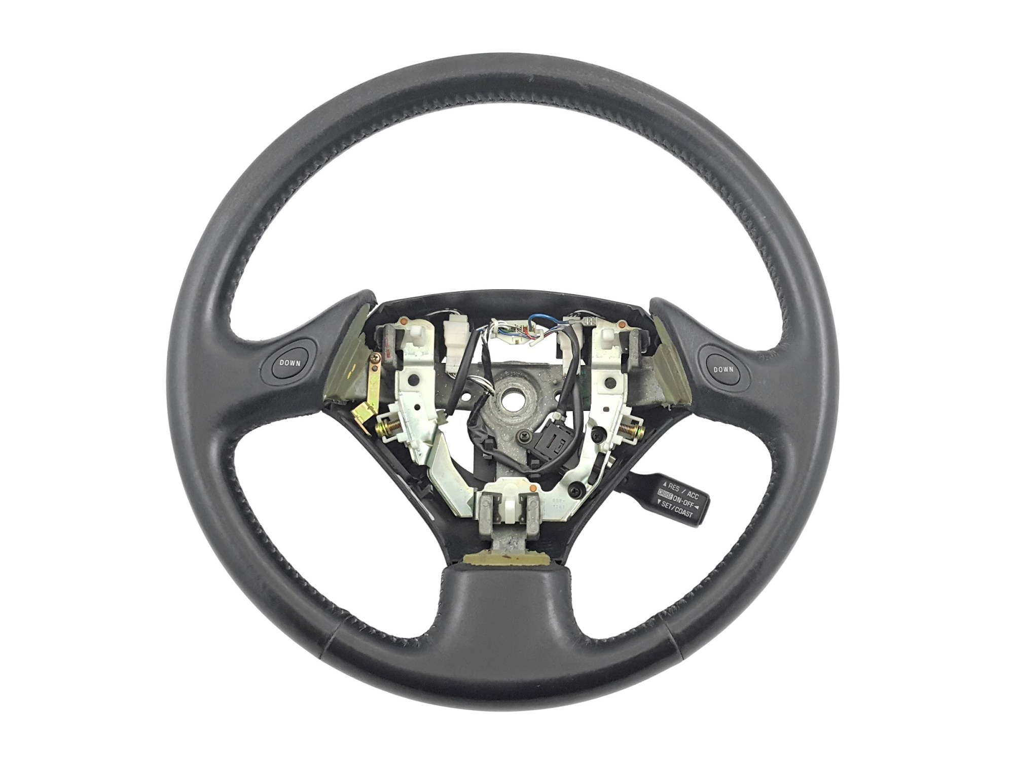 hight resolution of details about 98 05 lexus gs300 gs400 gs430 oem black leather steering wheel cruise aristo 2jz