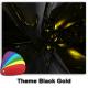 Theme - Black Gold windows phone