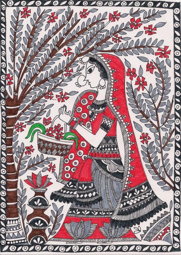 Madhubani Painting Indian
