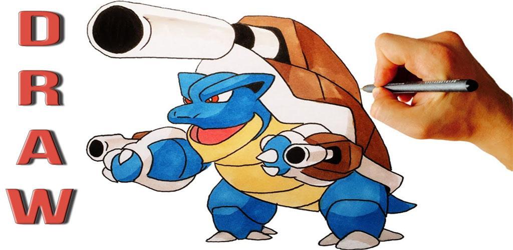 How To Draw Mega Evolution Pokemon 1 0 Apk Download Com Captaindroid Evolutionpokemon Apk Free