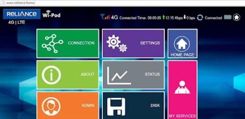 Télécharger Reliance 4G Wipod App pour PC (gratuit