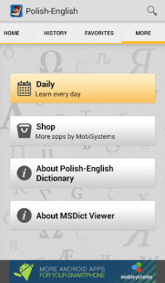 Polish<>English Dictionary APK