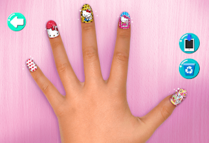 Salón De Uñas Hello Kitty Aplicaciones En Google Play