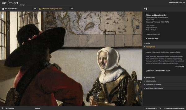 Google Student Explore Museums And Great Works Of Art In Project