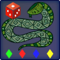 Snakes and Ladders Retro icon