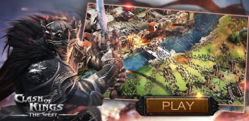 Clash of Kings:The West Pour PC Capture d'écran