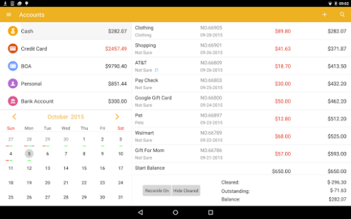 Checkbook - Account Tracker APK