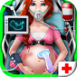 Pregnant Emergency Doctor icon
