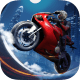 Course de Moto Nocturne Pilote Sur PC windows et Mac