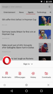 Opera browser - news & search APK
