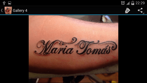 Design Your Own Name Tattoo