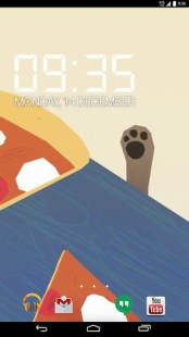 Dog Stealing a Pizza Slice LW APK