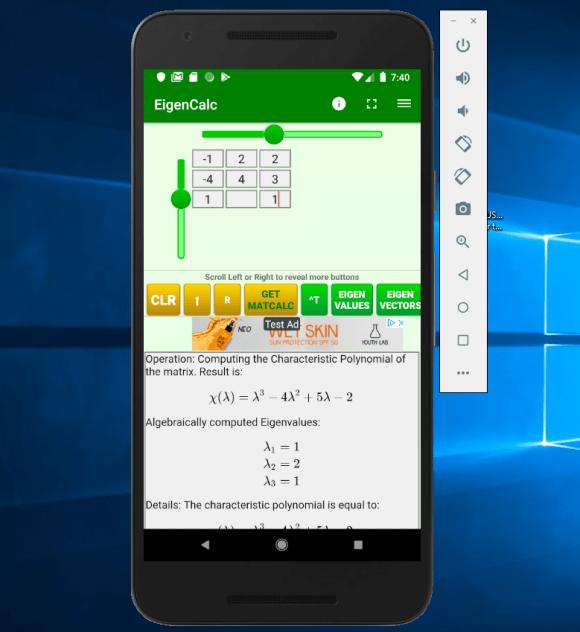 Eigenvalues And Eigenvectors Calculator Untuk Android Apk Unduh
