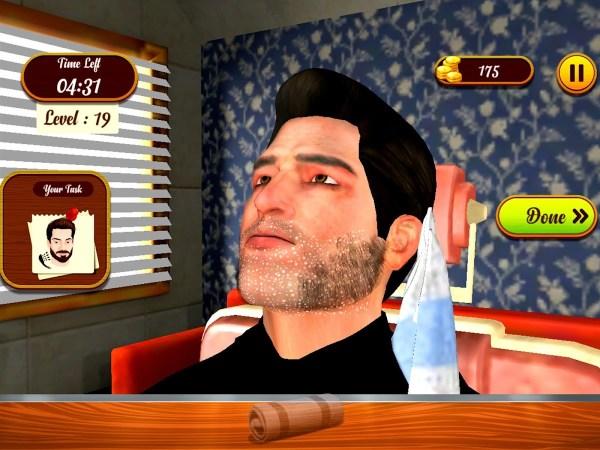 Barber Shop 3D Simulator
