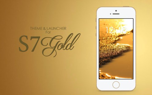 Theme for S7 Gold APK