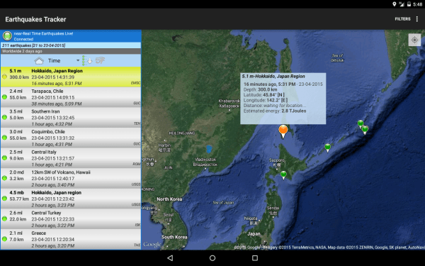 20 Real Time Earthquake Map Pictures And Ideas On Meta Networks