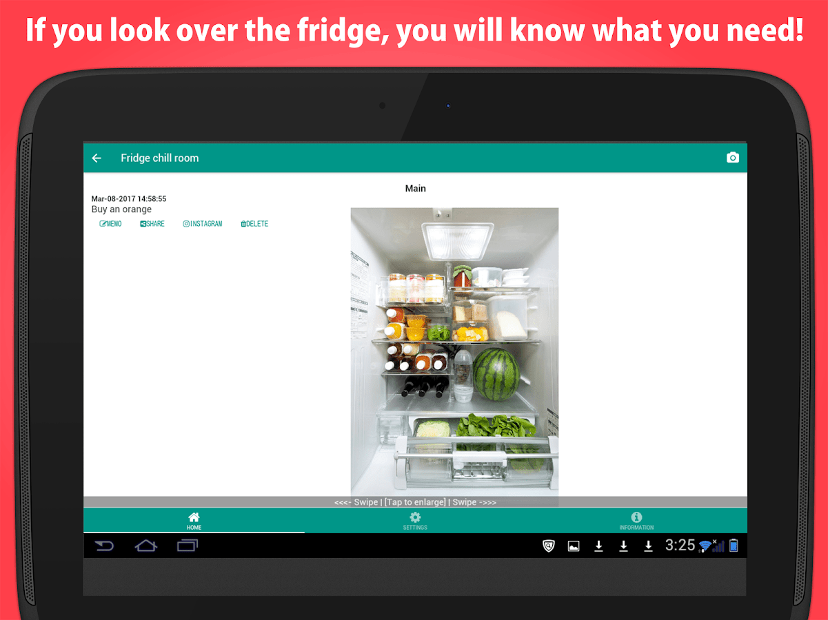 kitchen inventory app remodel jacksonville fl pantry photo fridge manage android apps on google play