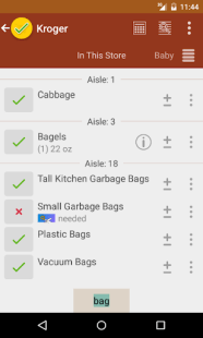 Grocery List - rShopping APK