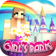 Girls Theme Park Craft: Parque de Diversões 3D