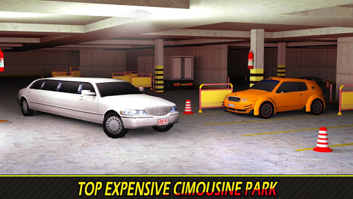 Luxury Limousine Car Parking APK