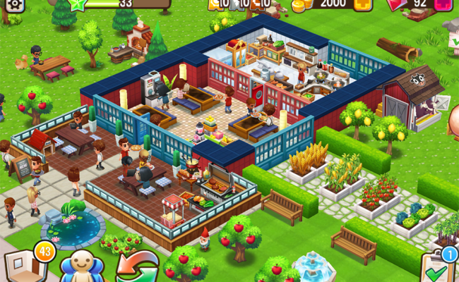 Food Street Restaurant Management Food Game Android