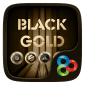 Black Gold GO Launcher Theme icon