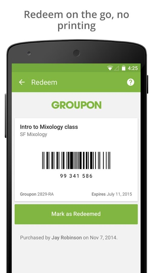 Groupon Shop Deals amp Coupons Android Apps on Google Play