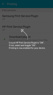 HP Druckdienst-Plug-In APK