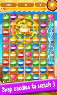 Sweet Candy Boom: Sweet puzzle APK