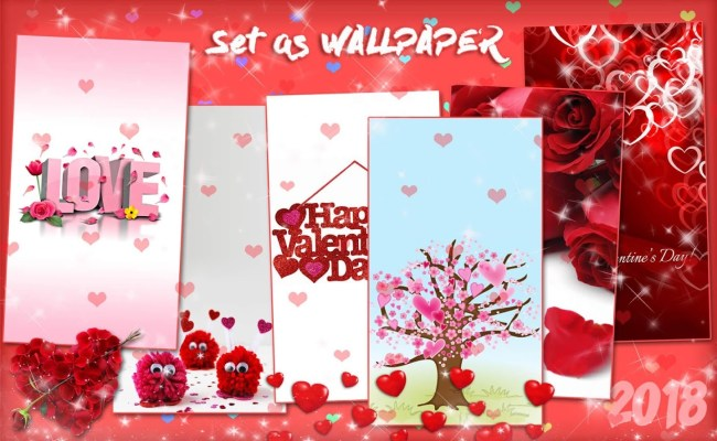 Valentines Day Live Wallpaper Love Background Android