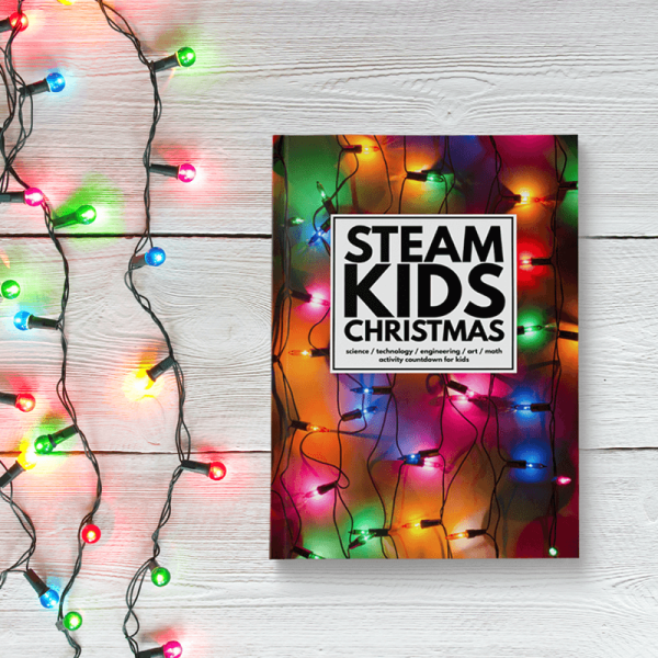 Steam Christmas Activities Book And Coloring Page