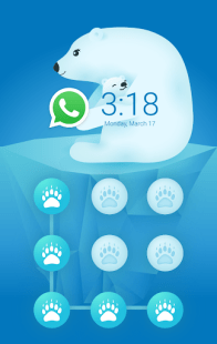 AppLock Theme Polar Bear APK