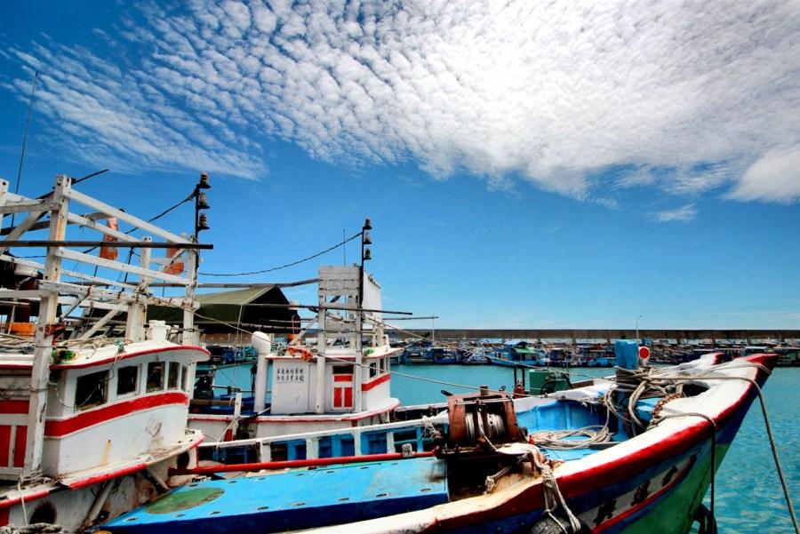 【屏東】正港在地人來的迷你漁港,枋寮漁港,超推玉合魩仔魚煎的小吃