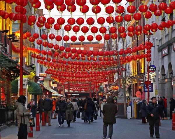 Chinatown London Chinese Year 27 Jan 16 March Thesqua