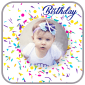 Birthday Photo Frame APK icône
