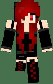hair red nova skin