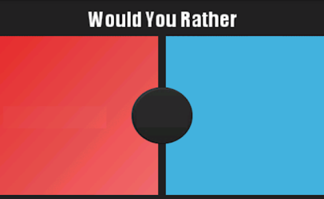 Would You Rather The Game Apps On Google Play