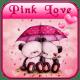 Pink Love Bear Theme windows phone