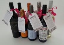 Bridal Shower Wine Basket Gift Tags