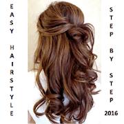 easy hairstyles 2017 - steps