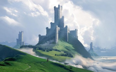 Amazing medieval fantasy Castle