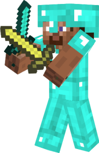 Diamond armor Steve - NovaSkin gallery - Minecraft Skins