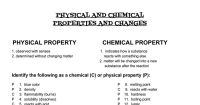 Properties And Changes Of Matter Worksheet - resultinfos