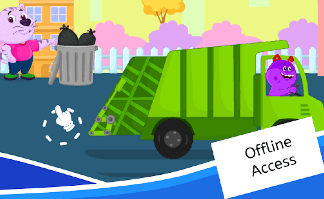 Garbage Truck Games For Kids Free And Offline Apps On
