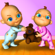 Twins Bébé Talking - Babsy Sur PC windows et Mac