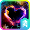 /colorful-heart-launcher-theme