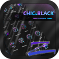 /chicblack-theme-zero-launcher